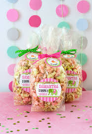 popcorn favor bags circus baby shower candy popcorn favors gift favor ideas