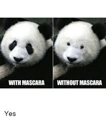 Panda Mascara Meme - search mascara memes on me me