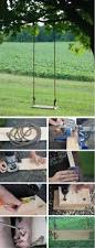 Cheap Backyard Landscaping by Best 25 Diy Swing Ideas On Pinterest Swinging Life Style
