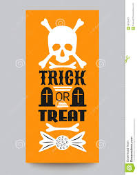 happy halloween party card typography letters illustration