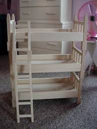 ana white build a doll bunk beds for american doll and 18