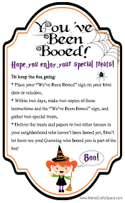 free you u0027ve been booed printables holidays halloween ideas and