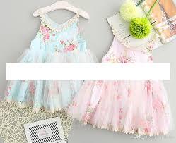 easter dresses 2018 baby easter dresses sleeveless floral vest dress girl