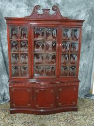 mahogany china cabinet furniture antique mahogany china cabinet with bubble glass casey and gram