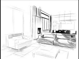 comment dessiner un canapé comment dessiner un salon croquis aménagement intérieur