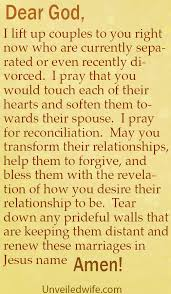 marriage prayers for couples prayer of the day restoration for separated couples
