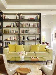 Floor To Ceiling Bookcases Floor To Ceiling Bookshelves Family Room Rustic With Built In
