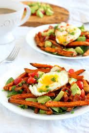 smothered breakfast sweet potato fries paleo u0026 whole30
