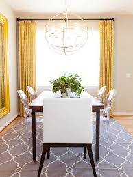 Dining Room Curtains Dining Room Curtains Simple Dining Room With White Walls And