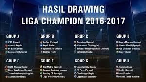 Jadwal Liga Chion Hasil Undian Serta Jadwal Liga Chion 2016 2017