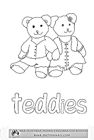 printable bear worksheets 1 toby u0027s fave teddy bear coloring