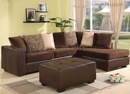 chocolate sectional sofa chocolate brown ultra plush contemporary sectional sofa