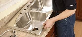 installing kitchen sink installation