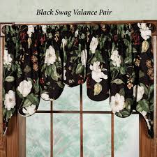 Waverly Window Valances by Decorations Waverly Montague Valance And Swags Picture