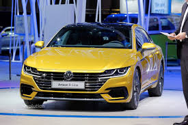 volkswagen arteon r line volkswagen arteon r said to pack over 400 hp from vr6 autoevolution