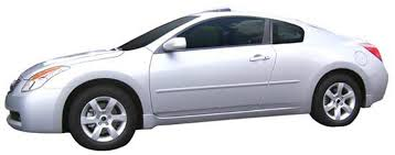 nissan altima coupe painted body side moldings 2008 2009 2010