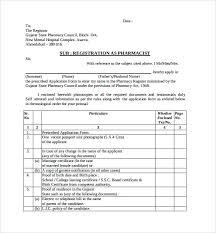 pharmacist letter templates