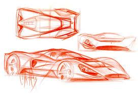 ferrari sketch coachbuild com pininfarina ferrari p4 5 design sketch