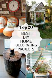 top 20 best diy home decorating projects zoomzee org
