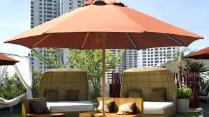 Fringed Patio Umbrella by Patio Ideas Spun Poly Push Button Tilt Wind Resistant Patio