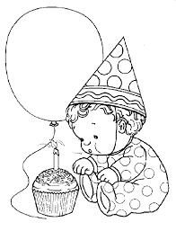 happy 1st birthday coloring pages omeletta me