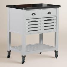 stainless steel top kitchen cart stainless steel top vitale kitchen cart world market