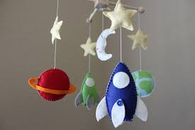 decorate outer space baby nursery in 3 2 1 nerdy with