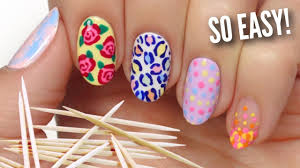 picking easy items for how stop biting nails nail art for beginners using a toothpick youtube