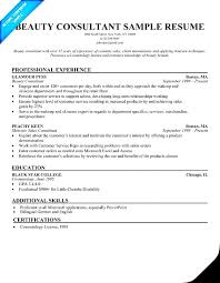 Sample Cosmetology Resume by Beauty Consultant Resume Free Samples Examples U0026 Format Resume