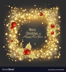 greeting for new year merry christmas and happy new year 2018 greeting vector image