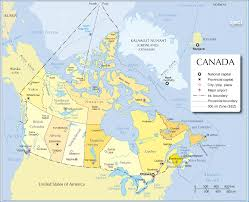 North America Map With Cities by Map Of Canada With All Cities Also Map Of Canada Including Cities
