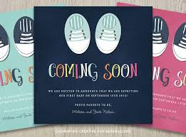 pregnancy announcement cards digital pregnancy announcement card tiny shoes clementine