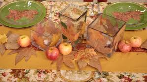 Fall Table Decor Mark Montano Fall Table Decor Ideas