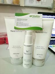 Makeup Remover Shaklee skincare nutriwhite shaklee tahan berapa lama
