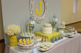 yellow baby shower ideas gray blue yellow baby shower baby shower ideas themes