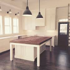 how to a kitchen island with seating the farmhouse kitchen is about ready for fried chicken