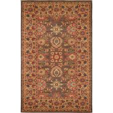 light brown area rugs unique loom heritage light brown 3 ft x 5 ft area rug 3129425