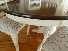 How To Refurbish A Chandelier Dining Room Round Refinishing Wood Dining Table With Wooden