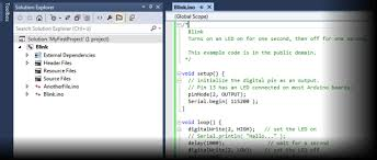 opening an existing arduino sketch arduino ide for visual studio