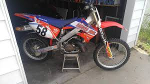 2004 honda cr250r motorcycles for sale