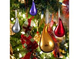 comix tree glass teardrop ornaments neweggflash