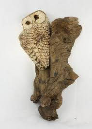owl wood carving chainsaw carved owl garden ornaments ebay
