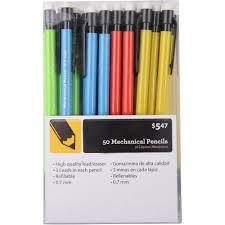 classmate pencil mechanical pencils 50 pack walmart