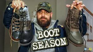 Duck Boots Mens Fashion Boot Season Is Here 3 New Boots For Fall U0026 Winter Youtube