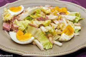comment cuisiner le radis noir cuit recette de salade de haricots blancs au jambon oeufs et radis noir