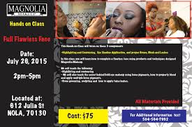 Makeup Classes In Baton Rouge Full Flawless Face Hands On Makeup Class At Magnolia Makeup New