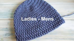 how to start a mens fashion blog crochet how to crochet a simple beanie for ladies mens size