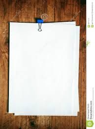 Office Desk Top View Blank Paper On Office Desk Top View Stock Photo Image 66671517