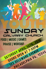 customizable design templates for youth event postermywall