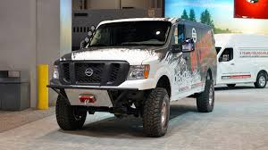 nissan work van nissan nv cargo x is off roader and support vehicle all in one